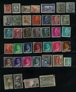 Spain 39 different used  PD