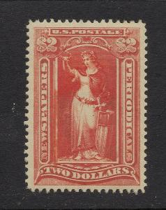 PR108 Scarlet - $2.00 Newspaper - O.G. - Cat.$1,500.00