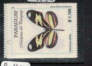 Paraguay Butterfly SC 2550-3 MNH (2eej)