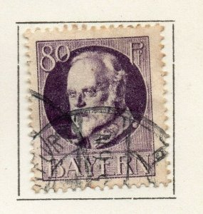 Bayern Bavaria 1914-18 Early Issue Fine Used 80pf. NW-120708