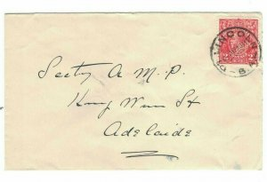 APH1423) Australia 1931 2d Red KGV Die II Small Cover