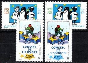 France #1o57-8, 1o59-60  MNH CV $8.90 (P623)