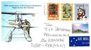 Australia, Postal Stationary, Aviation