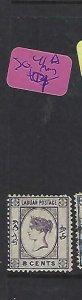 LABUAN   (PP1910B)   QV CAMEO  8C  SG 41A   MOG