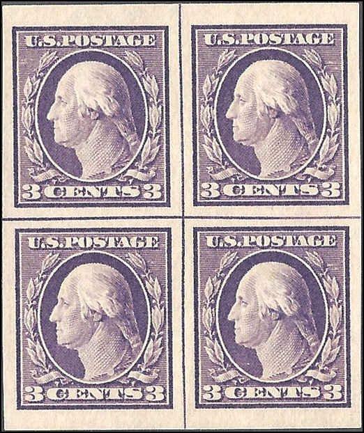 483 Mint,OG,NH... Centerline Block of 4... SCV $140.00