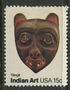 USA - Scott 1836 - Indian Art -1980- MLH - Single 15c Stamp