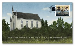 Canada Black History Month Willow Grove FDC 2021