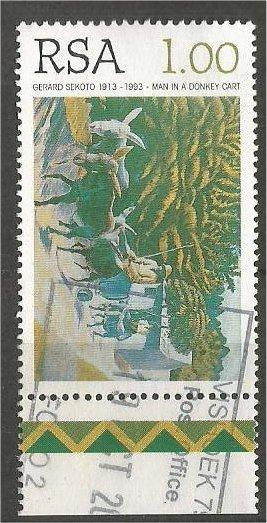 SOUTH AFRICA, 1996, used 1r, Paintings: Scott 941