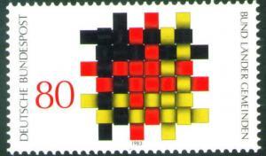 Germany Scott 1408 MNH** 1983 stamp