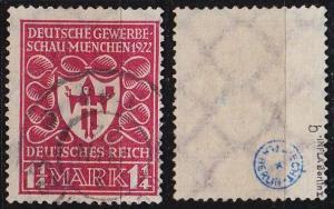 GERMANY REICH [1922] MiNr 0199 b ( O/used ) [01] geprüft