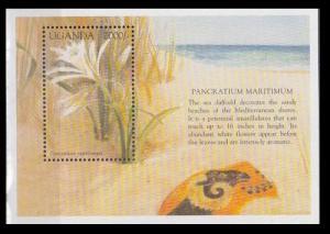 1998 Uganda 2056/B300 Flowers 5,50 €