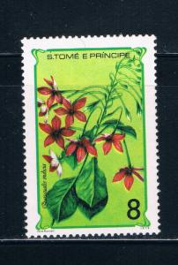 Saint Thomas and Prince Is 503a MNH Flowers (GI0334)+