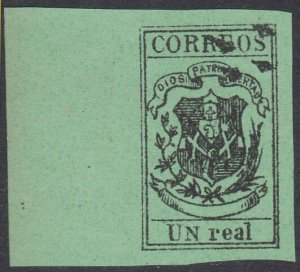 DOMINICAN REPUBLIC  An old forgery of a classic stamp ......................D593