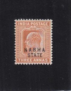 India: Nabha State: Sc #09, MH (36809)