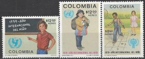 Colombia  C673-5  MNH  Year of the Child 1979
