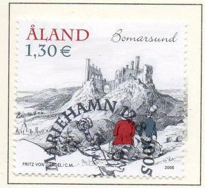 Aland Finland Sc  237 2005 Bardel Painting stamp used