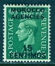 Great Britain Morocco; 1951: Sc. # 101: */MH Single Stamp