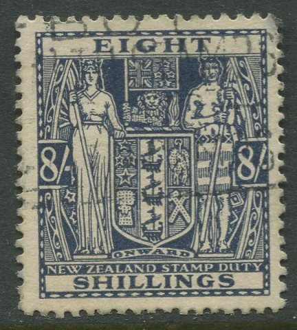 STAMP STATION PERTH New Zealand #AR82 Postal Fiscal Issue  Used 1940 CV$25.00