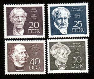 Germany DDR 1077-1080 Mint NH!