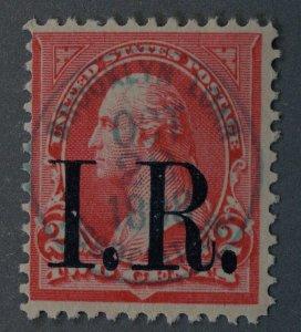 United States #R155 Washington I.R. Overprint Pink Oct 28 1898 Brooklyn Cancel