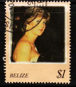 Belize - #1091b Princess Diana - Used