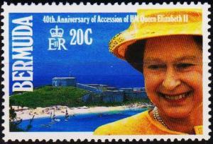 Bermuda. 1992 20c S.G.640 Unmounted Mint