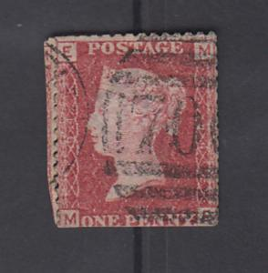 Great Britain  QV  SG 43 OR 44 -   1d  Plate  94  Used   2 Scans   56617