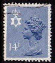 Northern Ireland - #NIMH23 Machin Queen Elizabeth II - Used