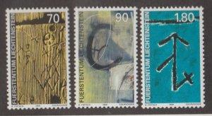 Liechtenstein Scott #1156-1157-1158 Stamps - Mint NH Set