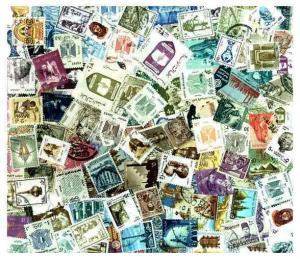 Egypt Stamp Collection - 200 Different Stamps