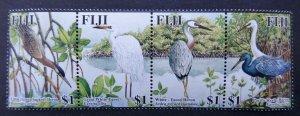 Fiji 2005 birds set of 4v MNH