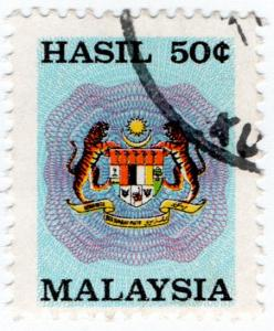 (I.B) Malaysia Revenue : General Duty 50c (small format)