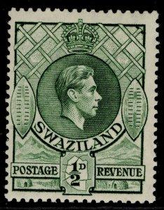 SWAZILAND GVI SG28b, ½d bronze-green, M MINT. PERF 13½ X 14