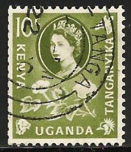 Kenya, Uganda & Tanzania 1960 Scott# 121 Used