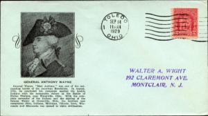 #680-23 U.S. FIRST DAY COVER STOUTZENBERG CACHET BM9403