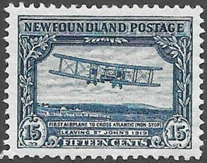 Newfoundland Scott Number 180 VF H