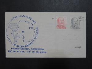 Chile 1988 Palmer Station Antarctica Cover - Z9601