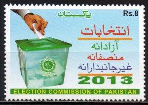 Pakistan. 2013. 1444. Elections. MNH.
