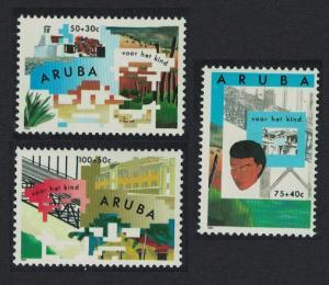 Aruba Cacti Bridges Child Welfare 3v 1993 MNH SG#135-137