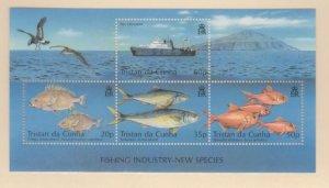 Tristan Da Cunha Scott #714 Stamps - Mint NH Souvenir Sheet