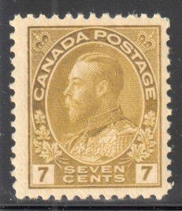 Canada VF NH #113, 113a, b, c, iii, iv ADMIRAL C$5700.00 ++  WOW