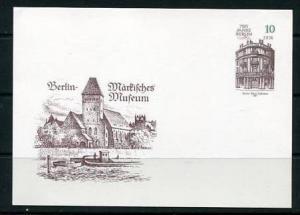 Germany 1987 Postal Stationary Card  Unused  750 Years Berlin