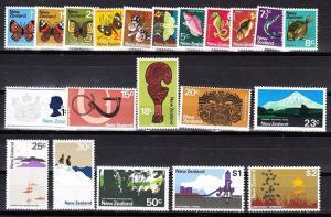New Zealand Scott 438-458 Mint NH (Catalog Value $16.20)