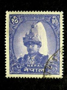 NEPAL - SCOTT# 151A - USED - CAT VAL $10.00