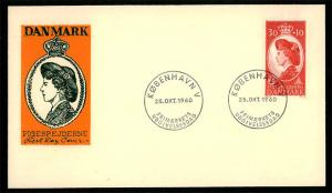 DENMARK 1960 - Queen Ingrid Guide / Scout Service FDC