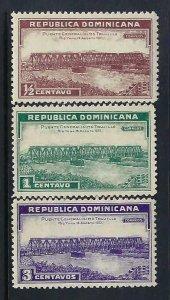DOMINICAN REPUBLIC 292-94 MOG BRIDGE P1084A