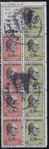 TÜRKEI TURKEY [1967] MiNr 2051-52 H-Blatt ( O/used ) [01]