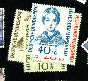 GERMANY #B344-7 MINT FVF OG LH Cat $ 38