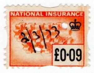 (I.B) Elizabeth II Revenue : National Insurance 9p