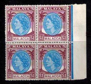 Malacca 42 MNH BLK bright copies Superb